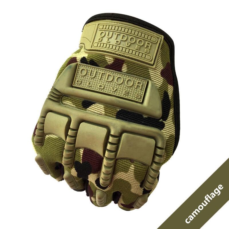 Tactical Climbing Gloves Fingerless Half Finger Sports Bike Military Soldier Hiking Training Hunting Racing Cycling Rekawiczki