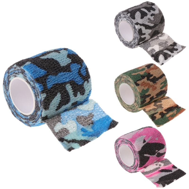 1Roll Tattoo Self-adhesive Non-woven Elastic Bandage Grip Tube Cover Wrap Sport Tape New Design