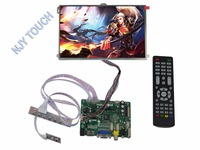 HDMI VGA AV USB Audio FPV LCD kit Placa Controladora plus LP101WX1 SLP2 Painel IPS de 10.1 polegadas|kit 10|kit kits|kit board -