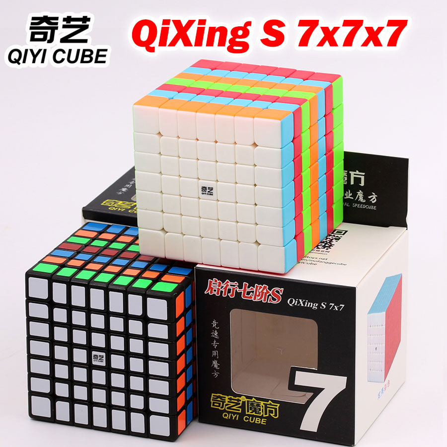 Puzzle Magic Cube Qiyi Cube QiXing S 7x7x7 7*7*7 777 High Level Twist Wisdom Toys Gift Professional Educational Logic Game Z