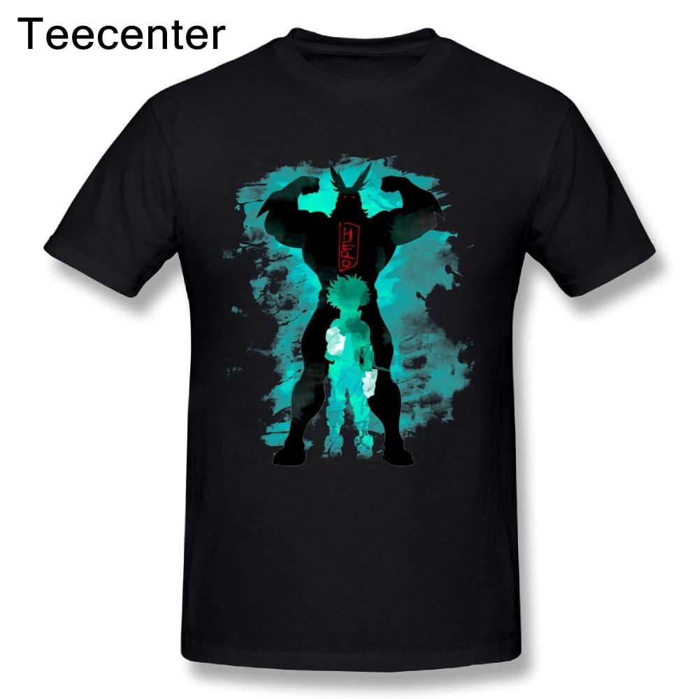 Crew neck Graphic print Quality Custom cotton My Hero Academia Tee Shirt 3D Print Men O-neck Design T Shirt