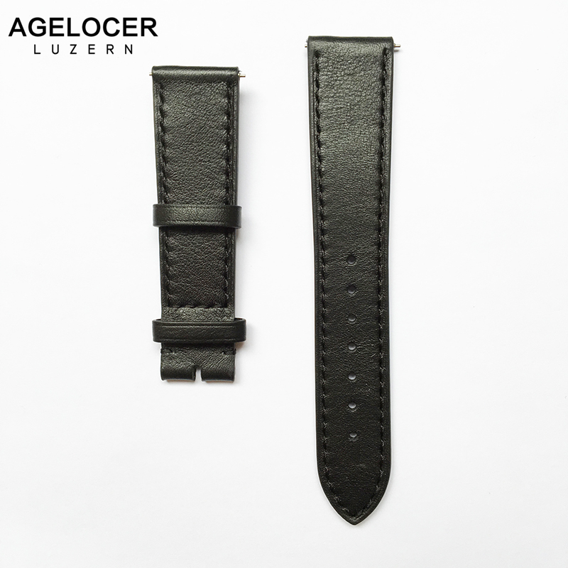 Hand made high Quality Fine Leather Watch Strap men genuine leather strap 20mm Buckle Wrist Replacement Fits Mens Relojes Hombre managing projects made simple