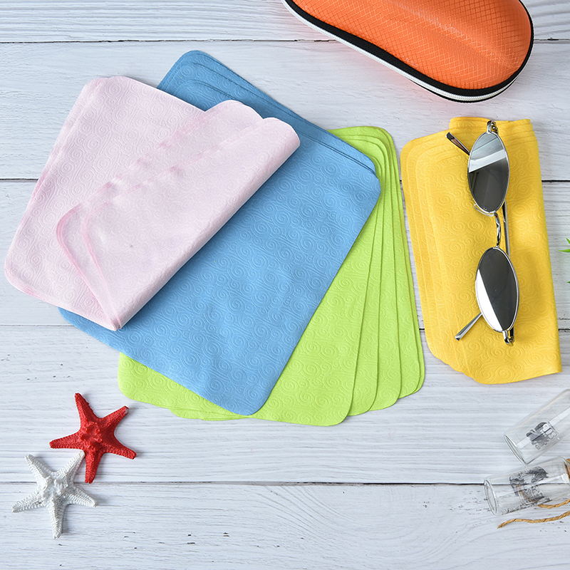 5pcs Cleaner Clean Glasses Lens Cloth Wipes For Sunglasses Microfiber Eyeglass Cleaning Cloth For Mac Camera Computer 17*15cm
