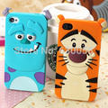 Capa tiger para o iphone 5 5S 5 g, monsters inc. Sulley Marie / Alice dog Cat luxo macio casos de borracha de silicone para o iPhone 5S 5 5 g telefone bag
