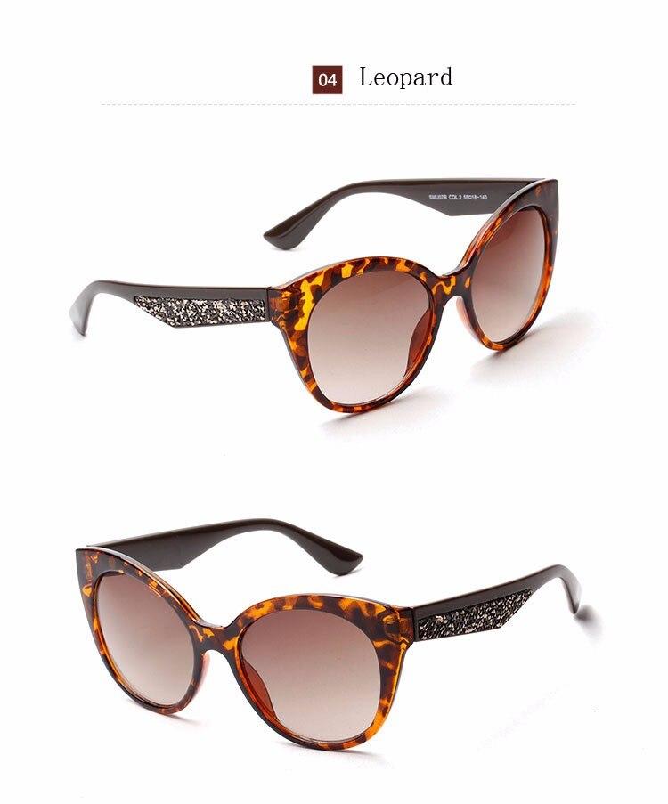 5e146d4aa ⊱اثنين كلوك مثير الإناث القط العين النظارات الشمسية المرأة العلامة ...