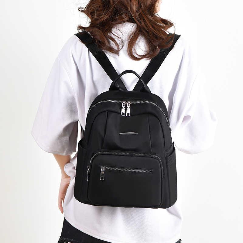 2019 las nuevas mujeres mochila impermeable de la tela de Oxford bolsas de la escuela los estudiantes mochila bolsos de las mujeres de viaje bolsa de hombro para las niñas adolescentes
