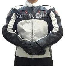 2018new motocicleta UMA estrela jaqueta de corrida jaqueta de motocross Oxford PU com capuz três cores opcional