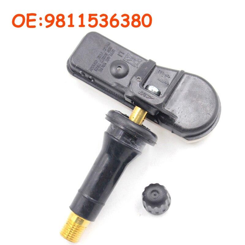 Car accessories 9811536380 65597 67 For Peugeot For Citroen High Quality TPMS Tire Pressure Sensor Monitor|Tire Pressure Alarm|   - title=