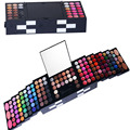 Pro 148 Full Color Matte Eyeshadow Lip Gloss Palette Professional Shimmer Matte Eyeshadow Blush Makeup Cosmetic Set Kit