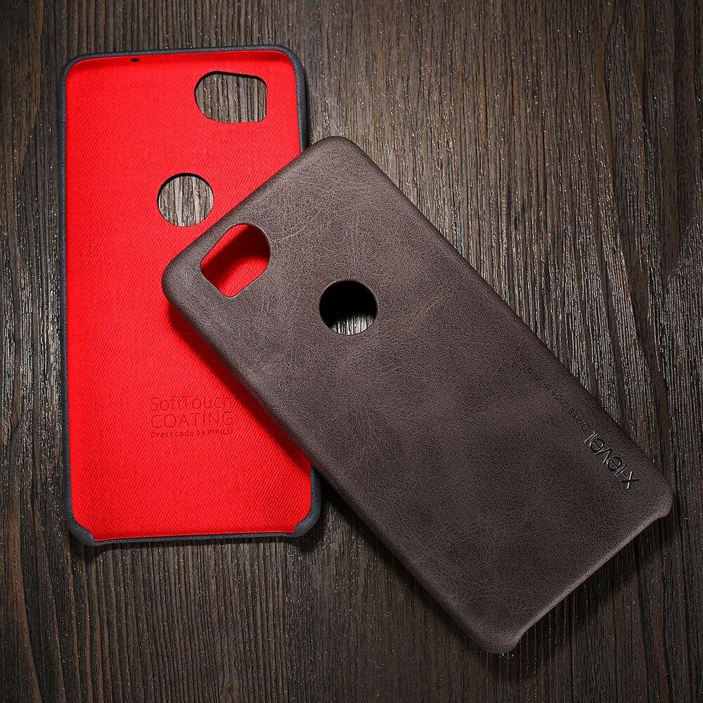 Case For Google Pixel 2 XL X-Level Luxury Retro Leather Case For Google Pixel 2 Back Cover For Google Pixel 2XL Vingate Case