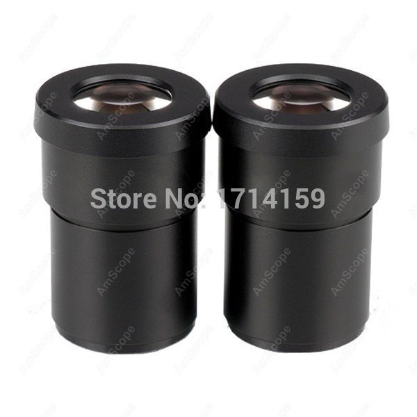 цены  Widefield 30X Eyepieces -AmScope Supplies Pair of Extreme Widefield 30X Eyepieces (30mm)