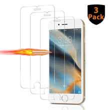 3PCS for IPhone X 5 5S 5C SE 6 6S 7 8 Plus Screen Protector Tempered Glass for IPhoneX Coque Glass P