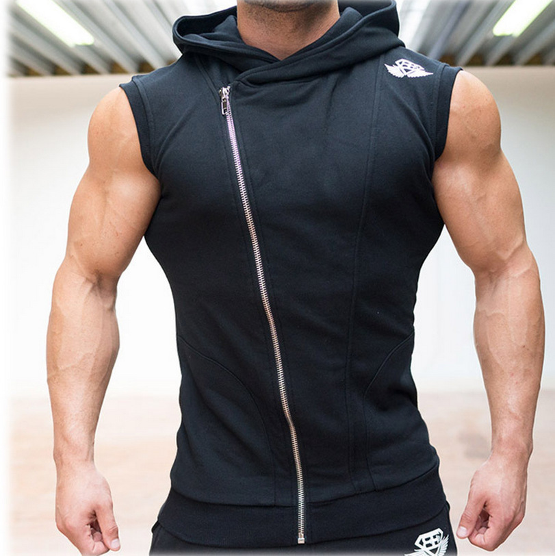 Online Buy Wholesale sleeveless hoodie from China sleeveless ...