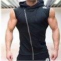 Mens Hoodies Gymshark Musculação Aptidão Colete Sem Mangas Com Capuz Camisolas Do Hoodie Tops Masculina Hombre Musculares Sportwear