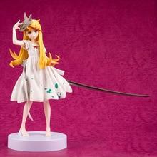 Oshino Shinobu Action Figure Collectible PVC Sexy Model Bakemonogatari Shinobu Figurine цена