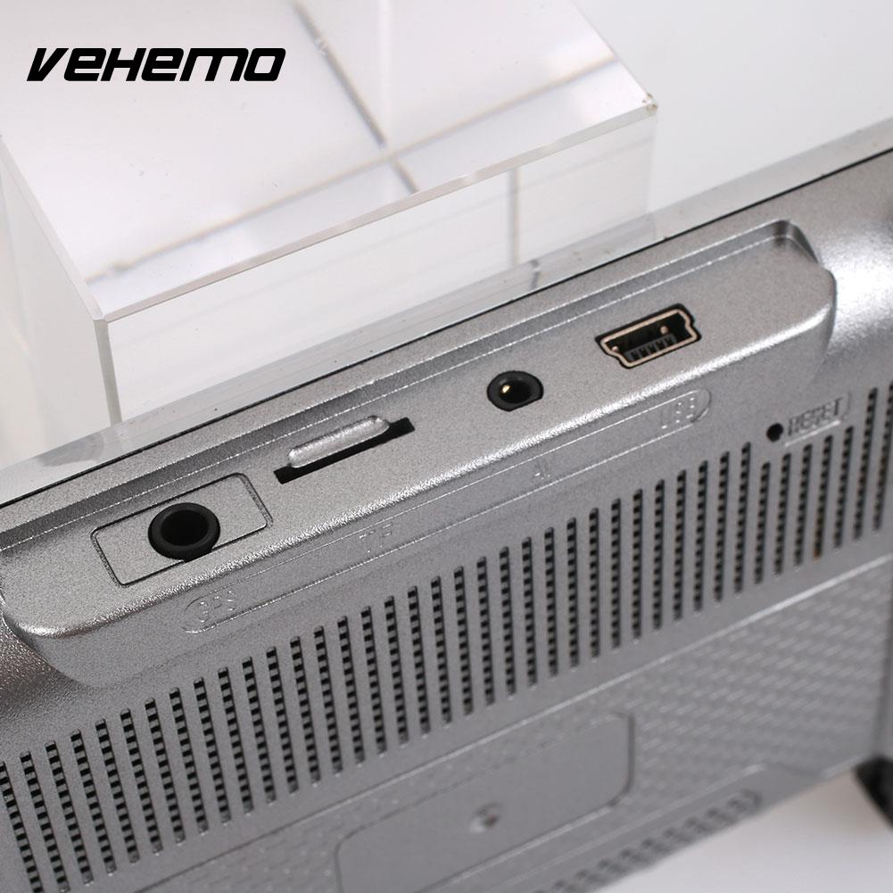 Vehemo HD 1080P 2.5D IPS Screen Premium Durable Dash Cam Parking Monitor Car Camera Rearview Mirror Car DVR Auto On/Off