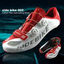 Sidebike 2017 Bicycle Cycling Shoes Ultra-light Carbon Fiber Bike Shoes Highway Road Bike Self-Locking Athletic Shoes zapatos