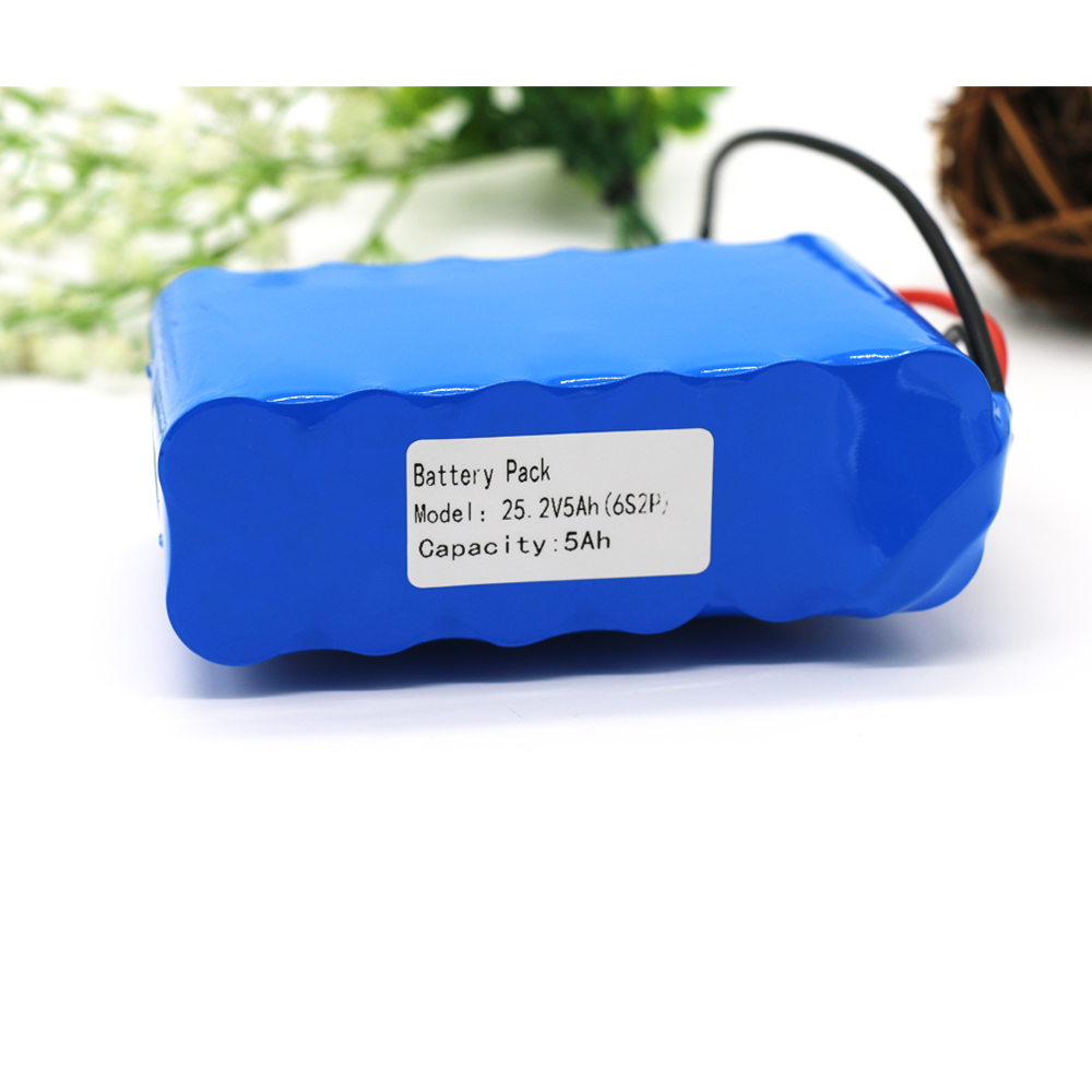 Batteries Kluosi 6s2p 22.2v /25.2v 5ah 24v Li-ion Battery Pack With 20a Bms For Small Electric Motor Bicycle Ebike Scooter Toys Drill