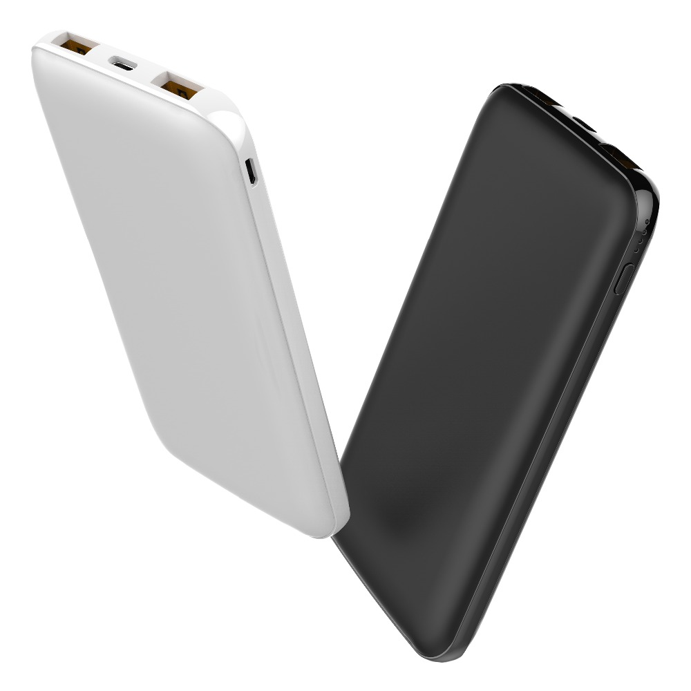 10000mAh Quick Charge 3.0 Dual USB Power Bank For iPhone X 8 7 6 Samsung S9 S8 Xiaomi Powerbank External Battery Charger QC3.0
