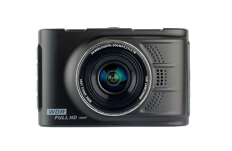 Voiture Mini caméra 3.0 pouces Full HD 1080 P en alliage de Zinc SLR grand objectif Auto enregistreur vidéo numérique caméscope Vision nocturne