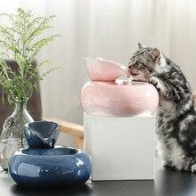 Ceramic cat water dispenser automatic circulation feeder, electric pet ceramic machine