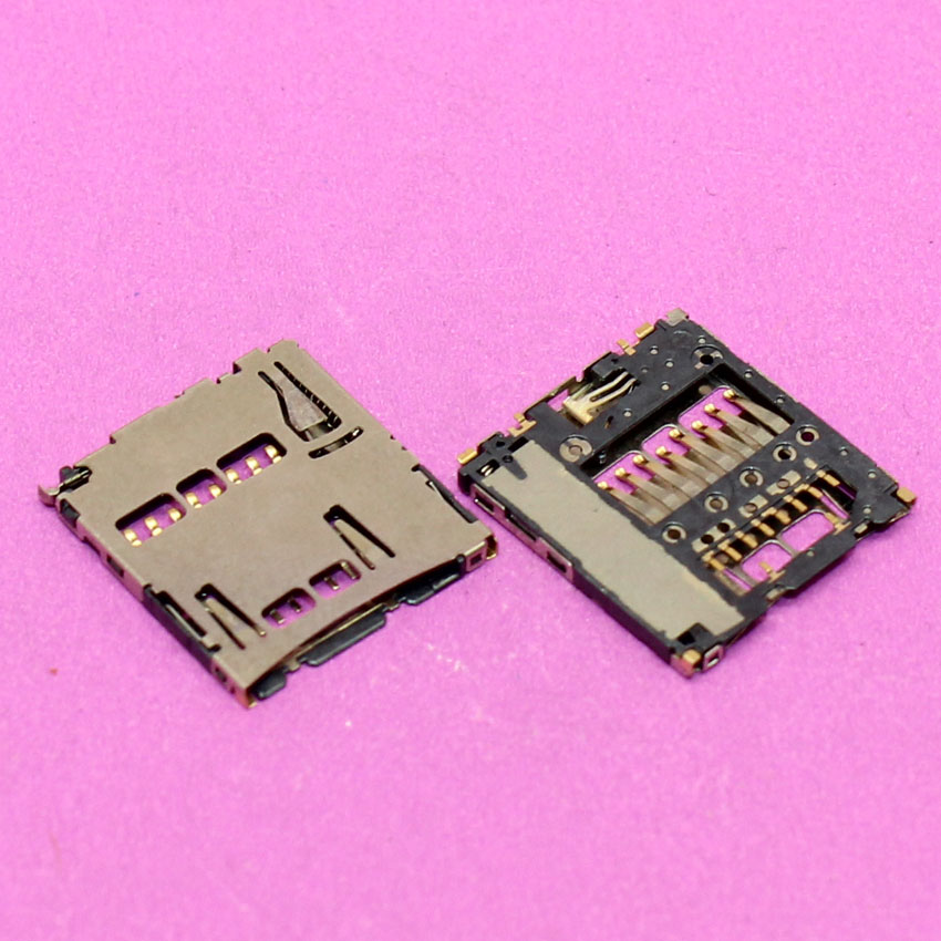 YuXi Replacement Brand New Memory card socket sim card holder slot tray module connector.