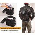 Alforjas de la motocicleta de la manera de cola bolsa de pierna bolsa de pierna impermeable mochila moto motocicleta racing tanque bolsa de equipaje mochila