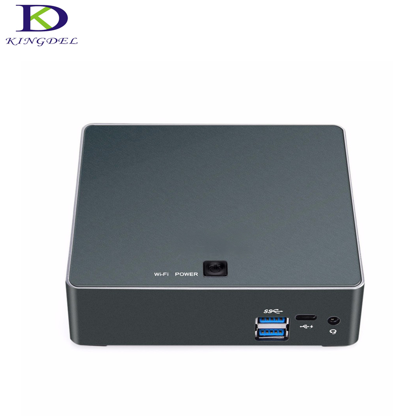 Kingdel High speed NUC Mini PC Core i7 6500U HD Graphics 520 HDMI 4K AN USB3