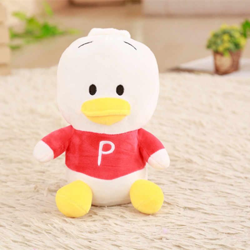 Новое поступление, 25 см, мягкие куклы, резиновая утка, Гонконг, большая желтая утка, плюшевые игрушки, горячая Распродажа, лучшие подарки для детей