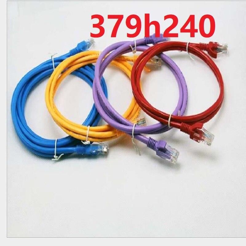 Câble d'ordinateur de routeur de câble de réseau LAN de 379h240 pour le routeur d'ordinateur/port de RJ-45/câble Ethernet de réseau RJ45 à grande vitesse