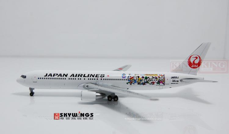 JC Wings XX4928 Nikko B767-300 JA656J 1:400 commercial jetliners plane La A dream Model Hobby