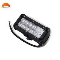 1PCS 7 INCH 36W LED LIGHT BAR FLOOD BEAM OFF ROAD SUV 4X4 WORK LIGHT LAMP