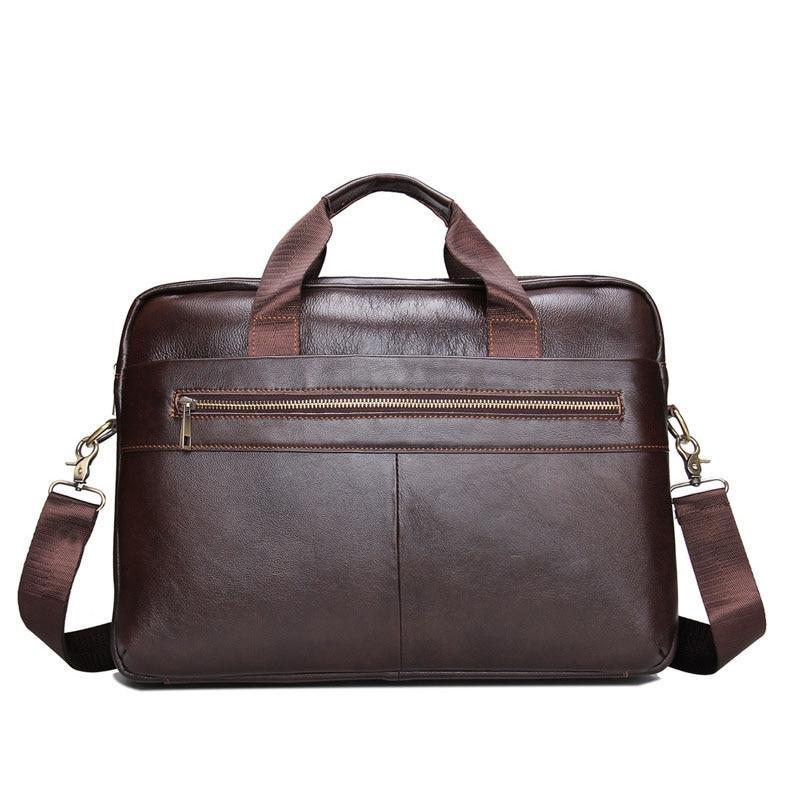 אמיתי אמיתי עור מזוודות גברים המותג - שקיות מסמכים
