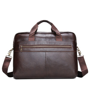 real genuine leather briefcases men brand luxury Business handbag Fashion Leisure Men's Bags diamond lattice