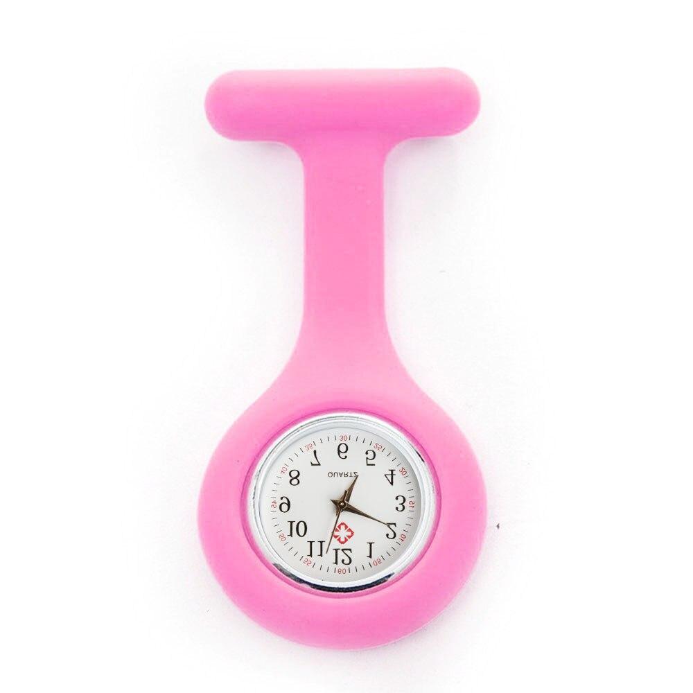 Горячая Распродажа модные карманные часы Силиконовые часы для Медсестры Брошь Туника Брелок часы с бесплатной батареей доктор медицинский reloj de bolsillo
