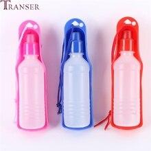 Transer бутылка для воды для домашних животных 250 мл 500 мл пластиковая портативная бутылка для воды для домашних животных для путешествий миска для питья воды 71229