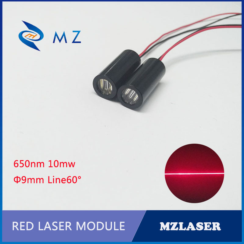 Line Laser Module 650nm 10mw Red Laser Module  APC Circuit Driver