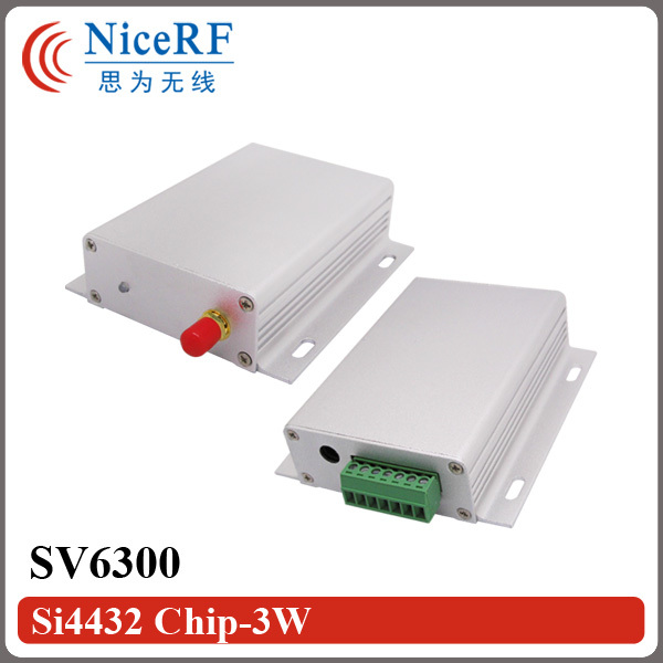 2PCS/lot SV6300 3W 433MHz/470MHz TTL/RS232/RS485 Interface Long Range Wireless module2PCS/lot SV6300 3W 433MHz/470MHz TTL/RS232/RS485 Interface Long Range Wireless module
