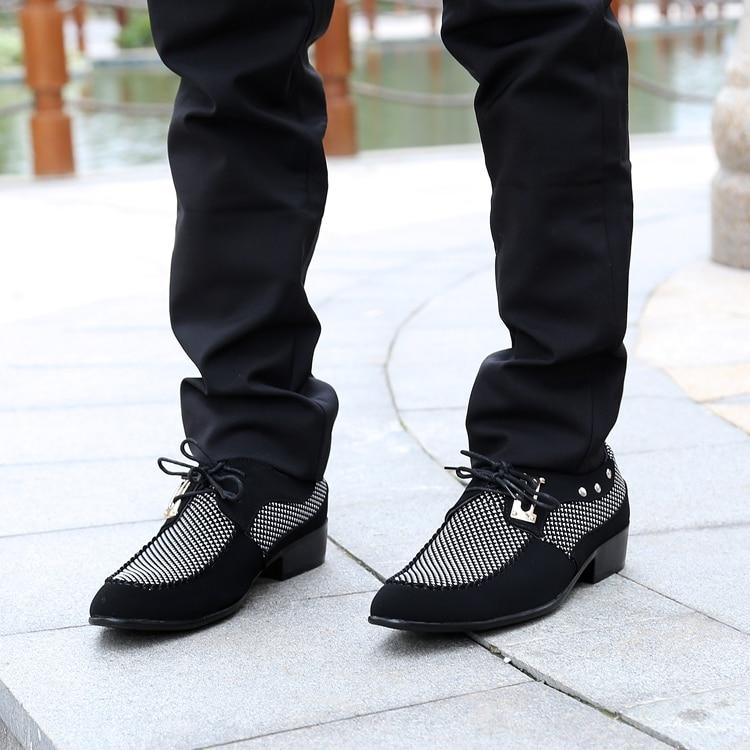 comprar más nuevo primer nivel nuevo diseño € 20.73 |Aliexpress.com: Comprar Hombres zapatos de oxfords pisos zapatos  sapatos masculinos otoño zapatos de cuero del hombre de la manera zapatos  de ...