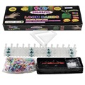550Pcs Silicone 1x Loom Rubber Bands Bracelet Making Kit Refill + 1x Loom Tool + 24x S Clips DIY Carft Wholesale LM0010