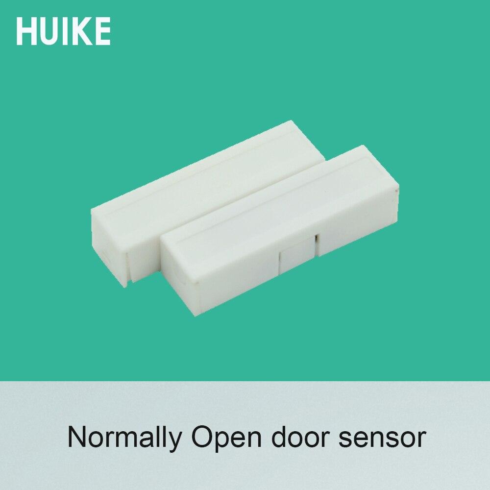 10 PCS White Color Plastic Door Open Alarm Detector Output NC Signal Options Light Control Switch Magnetic Contact Sensor