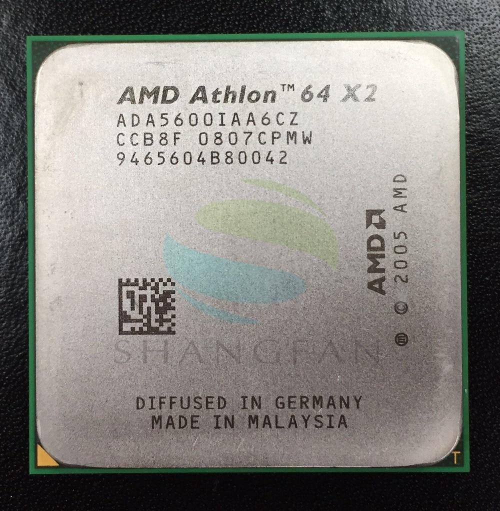 AMD Athlon X2 5600 X2 5600+ 2.8GHz   ADA5600IAA6CZ Dual-Core CPU Processor Socket AM2 940pin