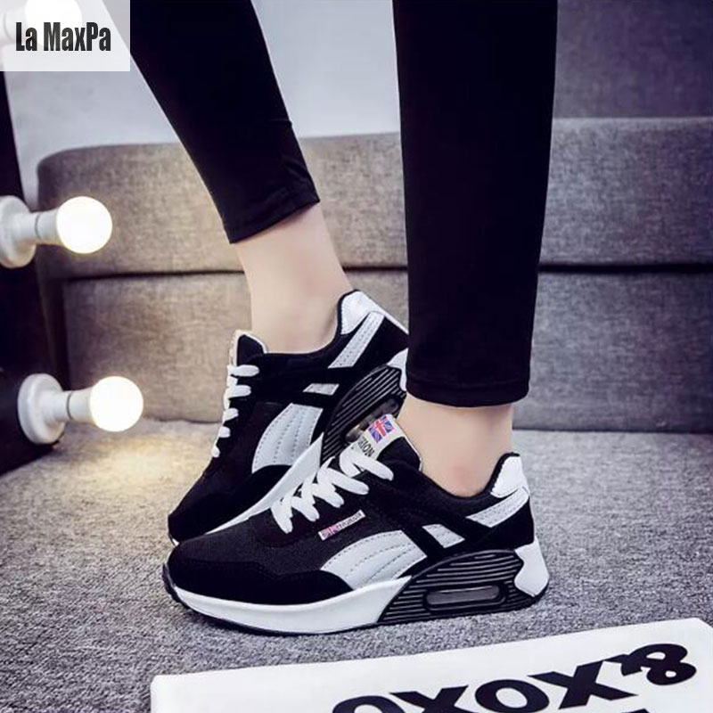 Women Sport Shoes Woman Running Sports Shoe Breathable Mesh Platform Female Sport shoe shose 2018 Spring New Designer Sneakers