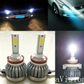 car headlight H7 LED H8/H9/H11 HB3/9005 HB4/9006 9007 H4 h3 H1 880 bulb auto front fog drl bulb automobile headlamp led lamp h11