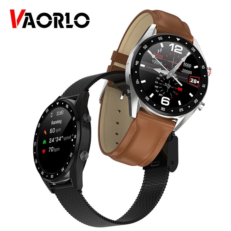 VAORLO L7  ECG PPG smart watch electrocardiograph ecg display holter ppg heartrate monitor blood pressure women smart bracelet