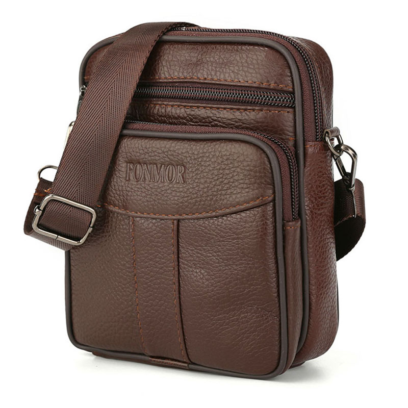 Brand PU Leather Messenger Bags Male Shoulder Bag High Quality Flap Small Casual Business Men's Travel Bag For Men Crossbody Bag