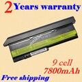 Jigu bateria do portátil para ibm lenovo thinkpad x200 series 7454 7455 7458 thinkpad x200s 7465 thinkpad x201 x201s x201i x201-3323