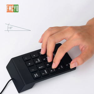Image 5 - USB Cable Numeric Keypad Bank Financial Accounting Payment Portable 18 key Password Numeric Keypad