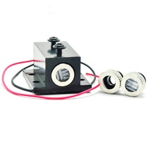 купить Focusable 850nm 3.5mw 3.7V-4.2V IR Infrared Diode Laser  Dot/Line/Cross Module w/ Black Heatsink дешево