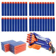 Заправка дротиков пули для Nerf N-strike элитная Серия бластеров детский игрушечный пистолет синие мягкие пули поролоновые пистолеты аксессуары